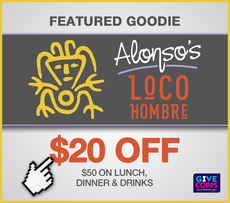 $20 off $50 at Alonso's/Loco Hombre