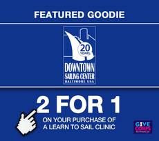 Learn to sail with a friend at the Downtown Sailing Center
