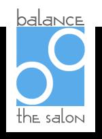 Balance - the Salon Logo